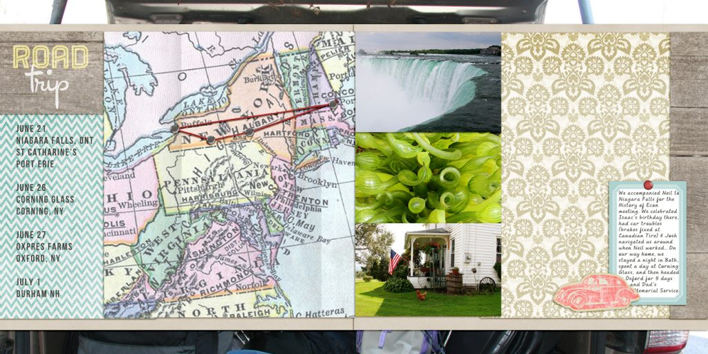 Digital Scrapbooking: How To Collect Travel Memories