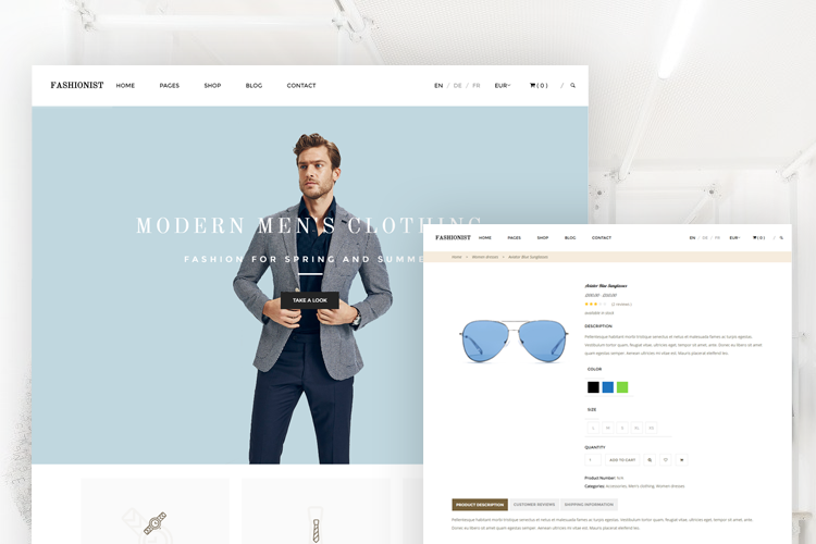 Fashionist WordPress Theme