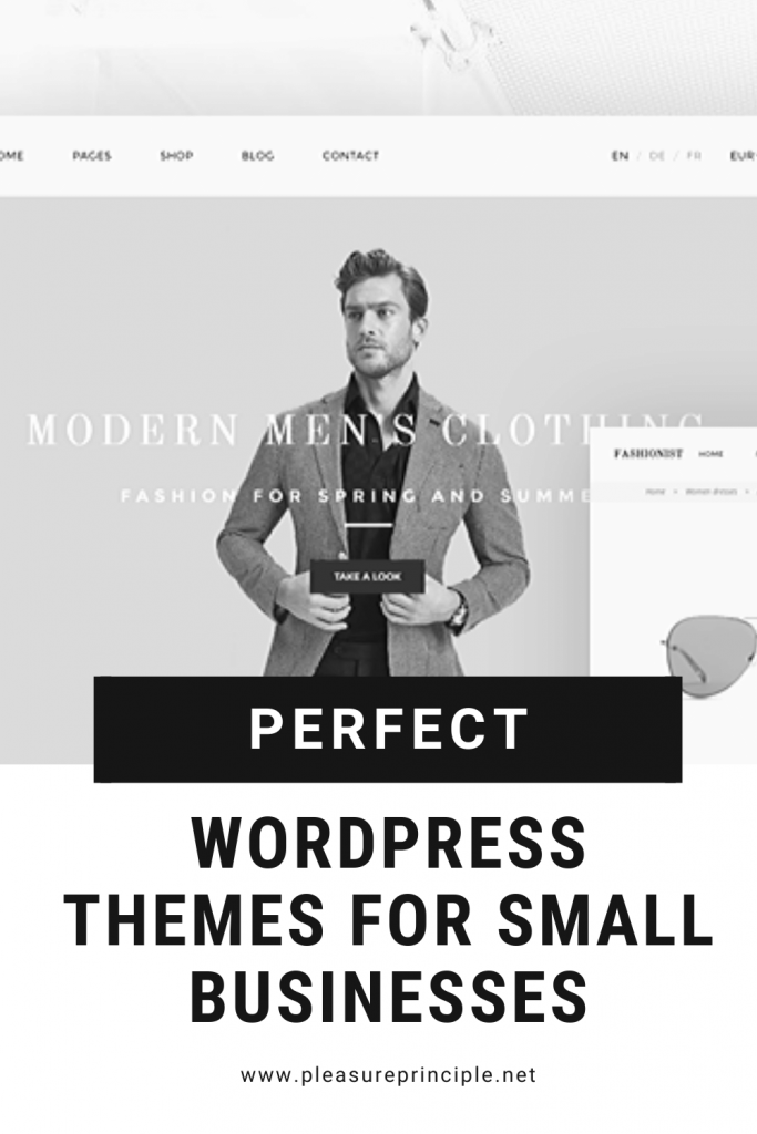 WordPress Themes for small businesses